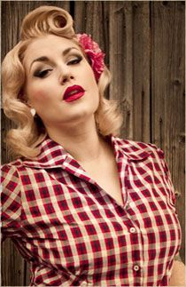 Hot pin up hairstyles trendy hairstyles 2015 2016 for for Coupe cheveux burlesque