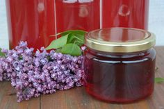 Sunflower - w wolnej chwili.: Syrop z Lilaka Preserves, Lilac, Salsa, Decoupage, Mason Jars, Homemade, Canning, Recipes, Food