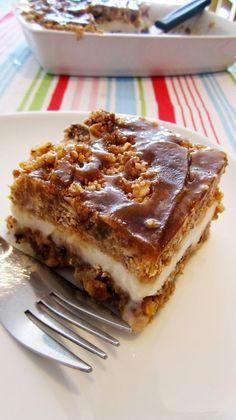 Vegan Caramel Pecan Ice Cream Dessert | #vegan #recipe #caramel #vegetarian #foodporn #recipes #icecream #dessert