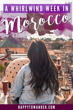 My 1 week itinerary for visiting Morocco, plus ideas for what to see and do in Marrakesh, Essaouira and the Ouzoud Falls. Visit Morocco, Morocco Travel, Africa Travel, Casablanca, Marrakesh, Tangier, The Places Youll Go, Places To Go, Places To Travel