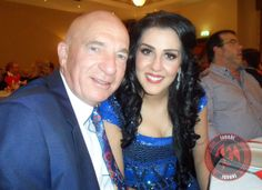 Samira with Lindsay Doyle at last night's event in Swansea