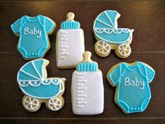 baby girl shower cookies  baby cookies    baby girl, Baby shower