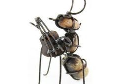 Ant with Guitar Statue