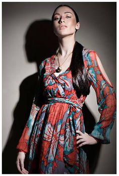 #Batik wrap #Dress from #BuddhiBatiks