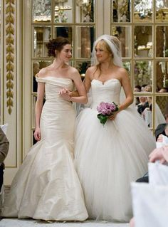 bride wars movie gowns by Vera Wang
