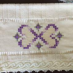 Resultado de imagen para toalhas de lavabo bordadas