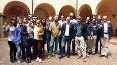 "#Fantinel #winetasting after #lesson at the #prestigious #SantAnna #University in #Pisa, for the ""Vini Italiani e Mercati Mondiali"" #Master.  #Tuscany #Italy #Spring2016 #Wine #WineTime #WineOClock #ItalianWine"