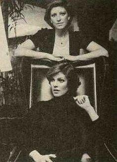 Priscilla and sister, Michelle 1976