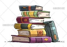 books, stack, book, pile, white, background, isolated, vector, illustration, flat, education, textbook, school, collection, icon, library, science, information, study, heap, university, knowledge, literature, wisdom, concept, learning, design, stacked