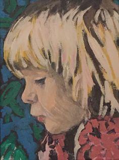 Quick portrait study of Camie by Dunja