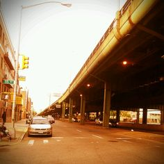 Highway in Sunset Park Brooklyn