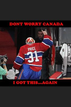Carey price Montreal canadiens Hockey Memes, Hockey Logos, Hockey Quotes, Hockey Goalie, Sports Memes, Hockey Players, Funny Hockey, Ice Hockey, Montreal Canadiens