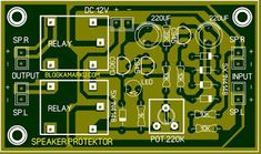 Diy Electronics, Electronics Projects, Diy Amplifier, Electronic Circuit Projects, Audio, Powered Subwoofer, Circuit Diagram, Electrical Engineering, Digital