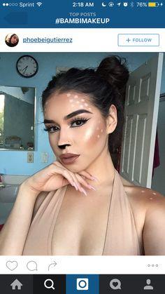 Bambi makeup …
