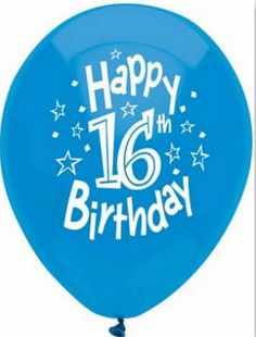Custom, Fun & Cool {Big Large Size Inch} 8 Pack of Helium & Air Inflatable Latex Rubber Balloons w/ Happy Birthday Design [in: Variety Assorted Multicolor] mySimple Products Boy 16th Birthday, Boy Birthday Parties, Birthday Balloons, Birthday Fun, Birthday Celebrations, Birthday Quotes, Birthday Ideas, Birthday Cards, Spiritual Birthday Wishes