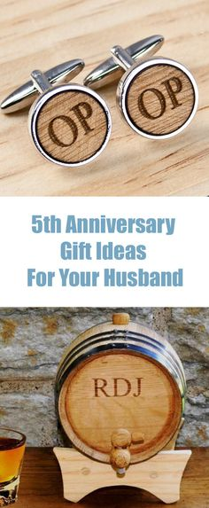 Gift For Husband 5th Wedding Anniversary : ... Anniversary gifts, Anniversaries and Wedding anniversary gifts