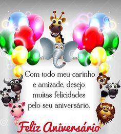 Com todo meu carinho e amizade, desejo muitas felicidades  #felicidades #feliz_aniversario #parabens