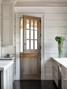 Farmhouse entry door gray wash dutch door turner interiors modern farmhouse front door with sidelights . Style At Home, Style Blog, Door Design, House Design, Sweet Home, Farmhouse Front, City Farmhouse, Rustic Farmhouse, Farmhouse Style