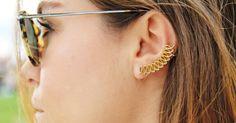 Spiral Ear Cuff / Heart Ear Cuff by GULIAN