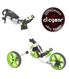 Brand NEW Clicgear 3 5 Golf Push Cart Arctic Lime Authorized Ebay Dealer | eBay