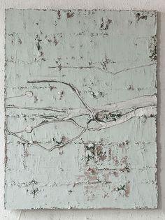 Jupp Linssen Untitled #63512, mixed media on canvas
