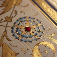 Turkish Design, Turkish Art, Islamic Art Pattern, Pattern Art, Illuminated Letters, Illuminated Manuscript, Arabesque, Ant Drawing, Turkish Pattern