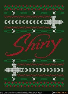 A Very Shiny Christmas T-Shirt - Firefly T-Shirt is $12 today at Once Upon a Tee!