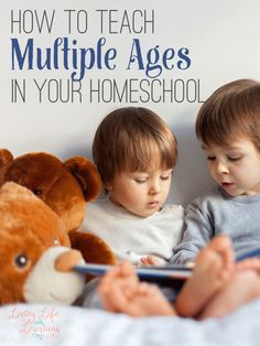 Tips for teaching multiple ages in your homeschool, your family will thank you.