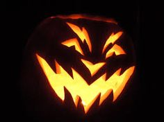 Image result for easy scary pumpkin carving ideas