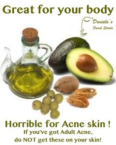 You can get #clearskin! But we have to work together. Half the battle with #adultacne is won by stopping #products and substances that #clog #pores. #Poreclogging #oils are first on the list.