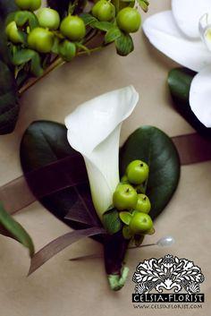 Celsia Florist: Wedding Boutonniere Design - Vancouver Florist | Flickr - Photo Sharing!