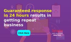 Get result-oriented IT SOLUTIONS  and guaranteed response in less than 24 hours from SynapseWebSolutions.   The company receives repeat business from clients and looks forward to building a website or MOBILE APPLICATION in less time. Building A Website, Mobile Application, App Development, About Uk, Repeat, Online Business, No Response, Success