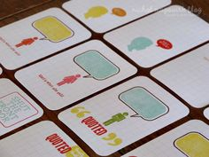 Quote journaling cards for project life from Nichol Magouirk- of course!