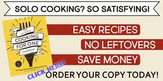 The Ultimate Cooking for One Cookbook - Order Page - One Dish Kitchen Pound Cake Recipes, Pie Recipes, Cookie Recipes, Baking Recipes, Pound Cakes, Irish Recipes, Cheese Recipes, Baking Ideas, Sauce Recipes