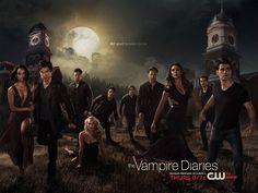 """The Vampire Diaries"" Season 6 Poster Tears Damon And Elena Apart - BuzzFeed"