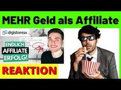 MEHR Geld als Affiliate verdienen! ✅ Auf Digistore24 gute Affiliate Produkte finden [Reagiertauf] - YouTube