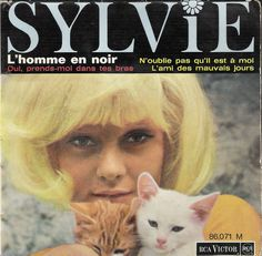 "Album cover - ""SYLVIE"" - Sylvie Vartan (1964)"