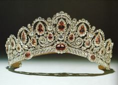 The Bagration Tiara of Duchess of Westminster.