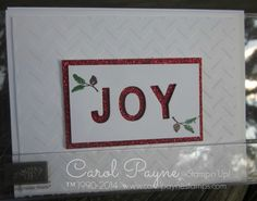 Stampin' Up!,Little Letters,Lovely As a Tree,Red Glimmer,Chevron,Christmas in July
