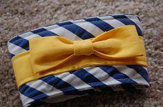 Yellow Bow Coffee Sleeve By Craftbott