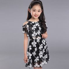 Big Girl Dresses Summer 2016 New Children's Clothing Kids Flower Dress Chiffon Princess Dresses Girls Kids 10 11 12 13  Years♦️ B E S T Online Marketplace - SaleVenue ♦️👉🏿 http://www.salevenue.co.uk/products/big-girl-dresses-summer-2016-new-childrens-clothing-kids-flower-dress-chiffon-princess-dresses-girls-kids-10-11-12-13-years/ US $8.00