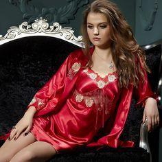 Satin nightdress....beautiful