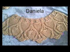 Moderna Blusa de Dama Tejida a Crochet 2016