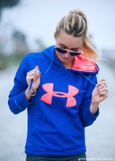 ::I am so glad I got my hands on this Under Armour Collection By Gisele. The workout clothes are to die for cute. Take a look!::