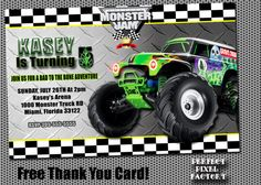 188 best monster truck party images on pinterest colouring pages monster truckinvitationgrave digger monster by perfectpixelfactory filmwisefo