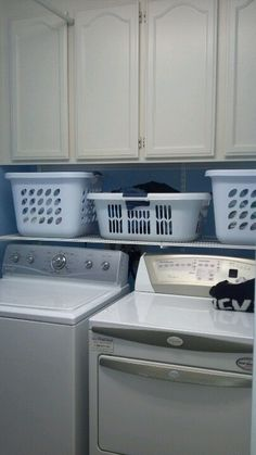 Organize your small laundry room....