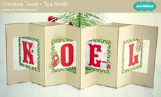 Lori Whitlock Double Lever Noel Christmas Card by Tya Smith. Holiday Cards, Christmas Cards, Xmas, Christmas Ideas, Svg Shapes, Echo Park Paper, Paper Companies, Silhouette Cameo Projects, Paper Shopping Bag