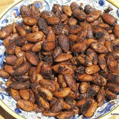 Spiced Almonds, Roasted Cashews, Raw Almonds, Nut Recipes, Almond Recipes, Healthy Recipes, Green Chilli, Chili Lime