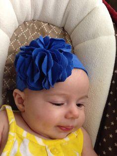 Baby headband on Etsy, $8.00