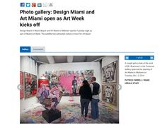 Thank you Miami Herald for featuring one of Contessa Gallery's booths at #artmiami (Booth A32a) #miamiartweek #artmiami #MrBrainwash